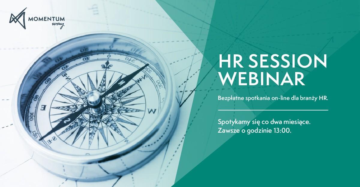 HR Session Webinar - cyklicznie spotkania on-line branży HR