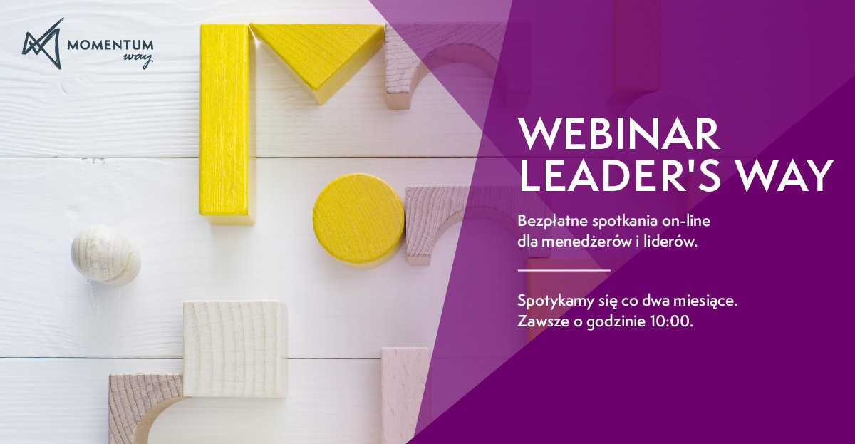 Leaders Way Webinar. Spotkania on-line dla menedżerów i liderów.