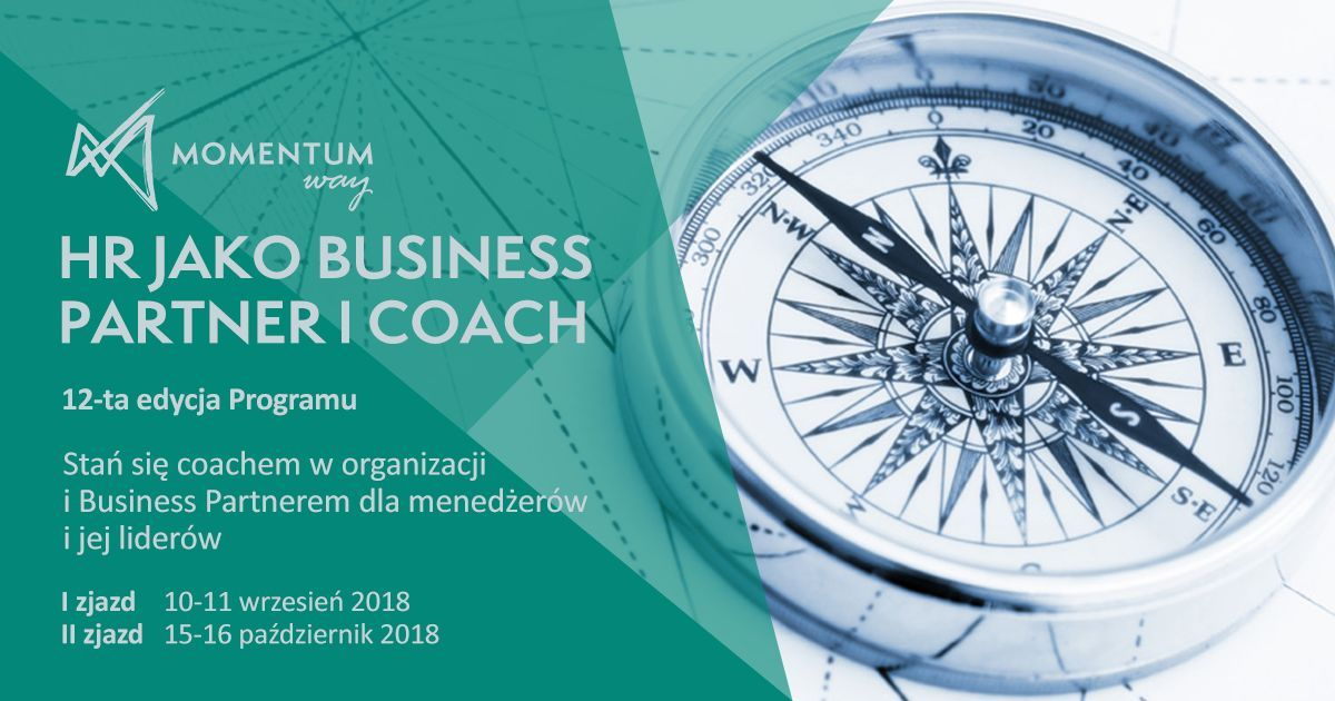 HR jako Business Partner i Coach. Momentum Way