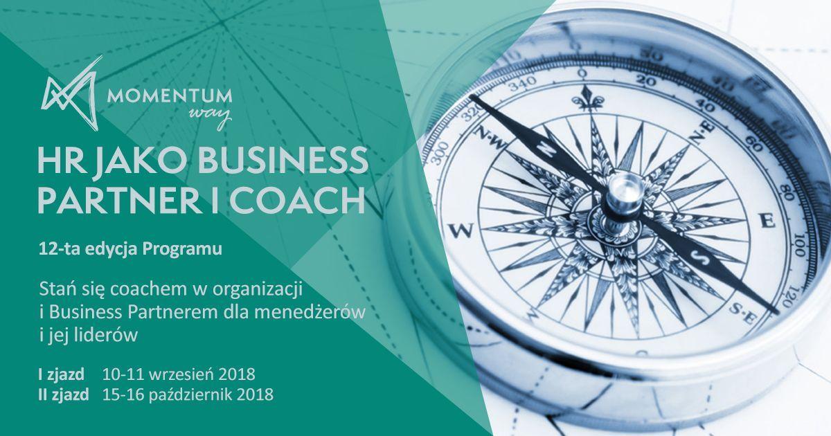 HR jako Business Partner i Coach. Momentum Way