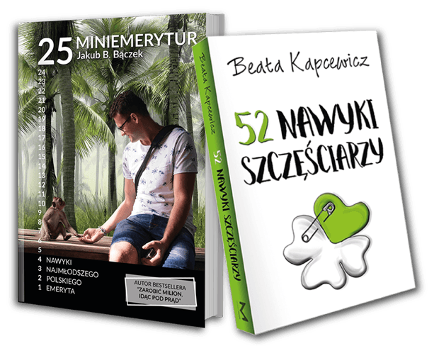 Świąteczny Pakiet - 52 Nawyki Szczęściarzy + 25 MiniEmerytur