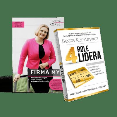Pakiet: 4 Role Lidera + Firma My